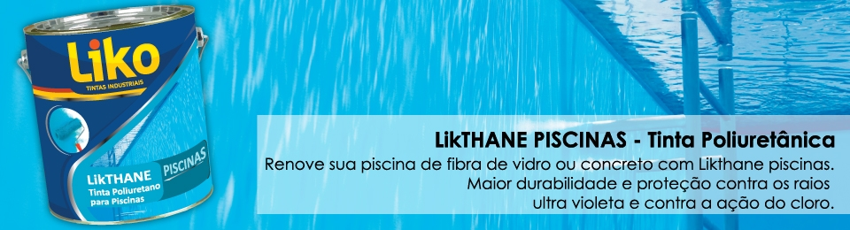 Liko tintas industriais for Solados para piscinas